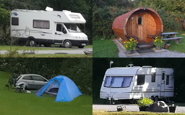 Tent, caravan and motorhome pitches for your Welsh break